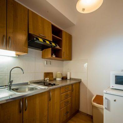 Apartmán kuchyňa