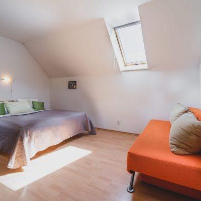 Dvojlôžková izba interiér