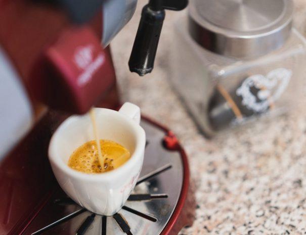 Kuchyňa kávovar